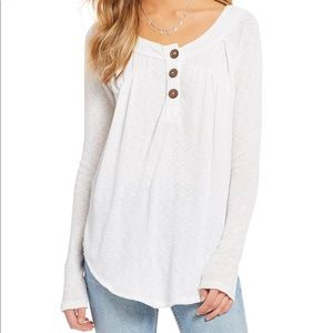 Free People We The Free Must Have Henley - white